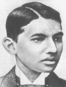 Gandhi_student