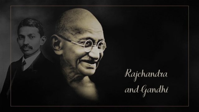 Rajchandra and Gandhi