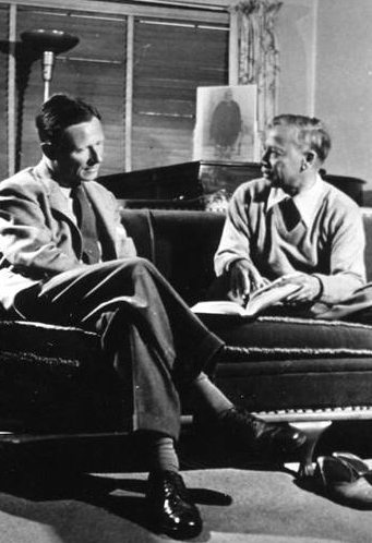 Christopher Isherwood & Swami P