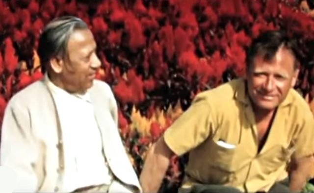 Swami Prabhavananda & Christopher Isherwood