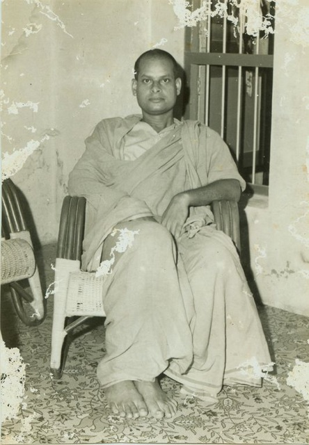 As a youngmonk