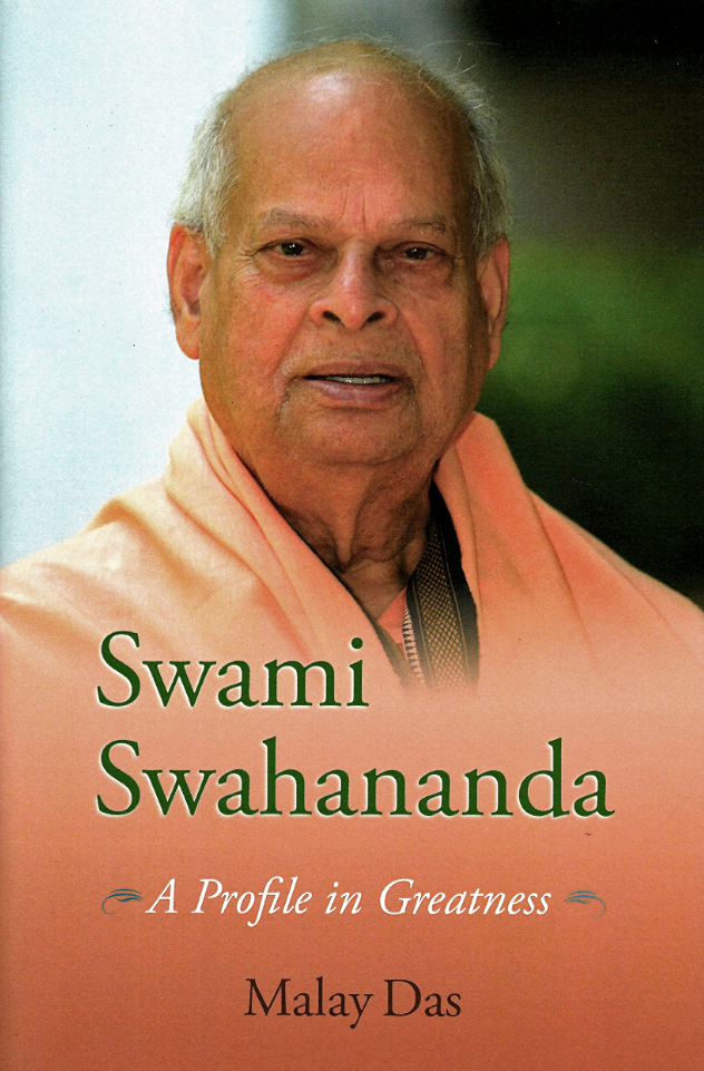 Swami Swahananda, A Profile in Greatness, book cover